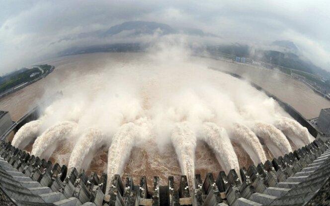 Užtvanka ant Jangdzės upės